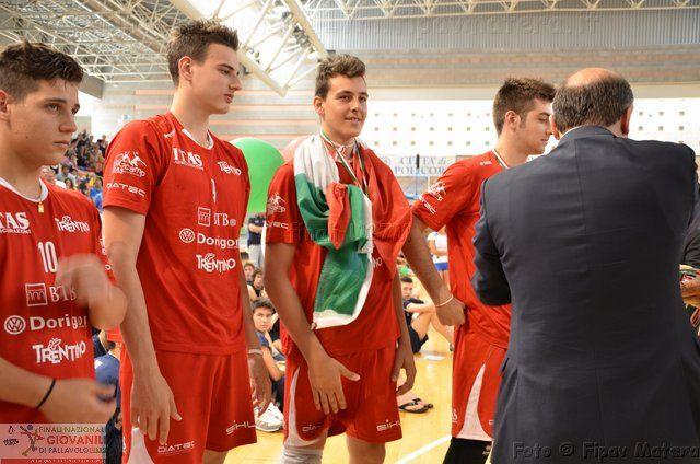 Tomasi, Giannelli, Cavuto e Cristofaletti durante la premiazione