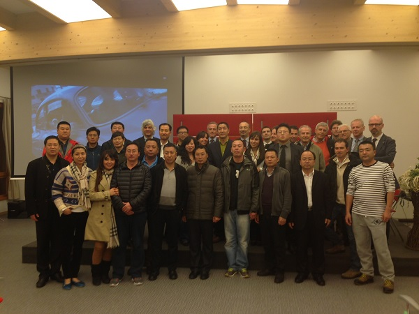 delegazione cinese a Campiglio