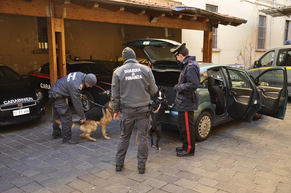 Guardia di Finanza e carabinieri di Trento