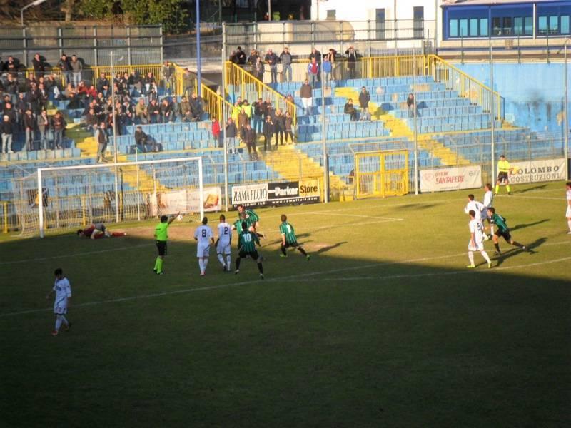 Darfo Boario calcio rigore 11