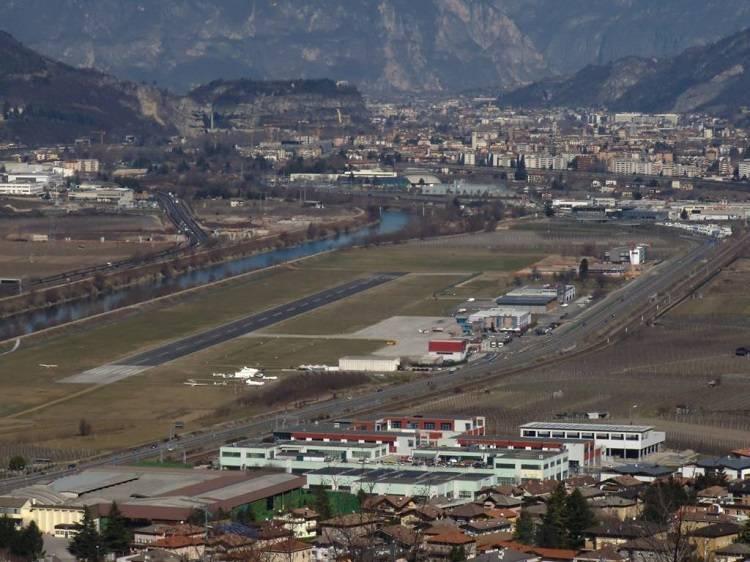 Trento aeroporto Caproni 1