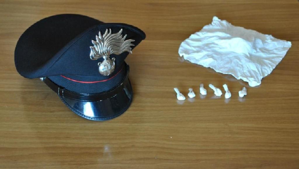 carabinieri spaccio cocaina