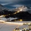 Corvatsch Snow Nigth