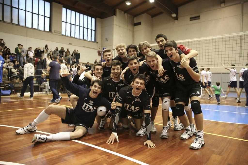 Itas Assicurazioni Trentino Under 19 in festa per la vittoria della Coppa Triveneto 2014
