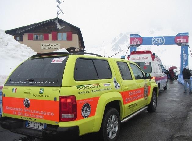 Soccorso Alpino e Giro Italia 11