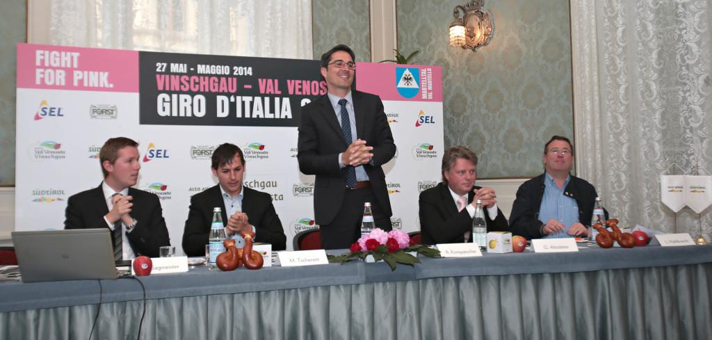 giro italia presentazione