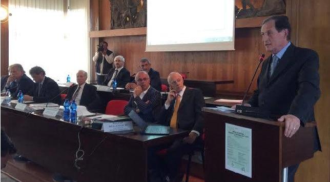 l'assessore Mantovani a Breno