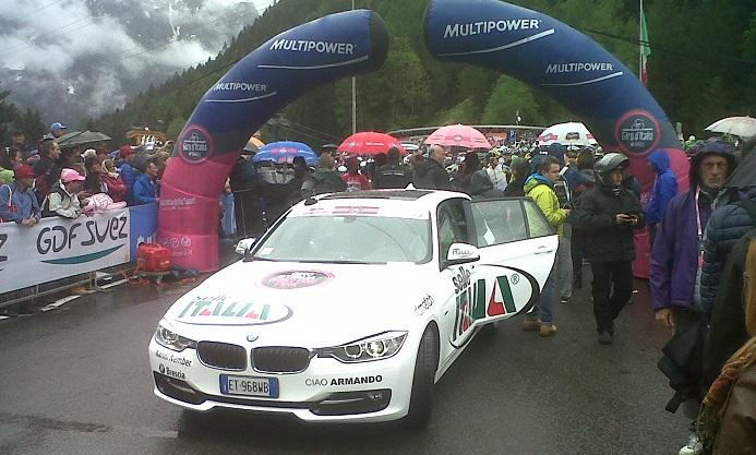 partenza Giro Italia