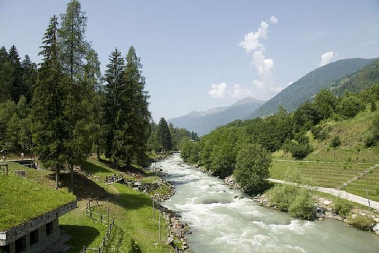 torrente Noce, malè 1