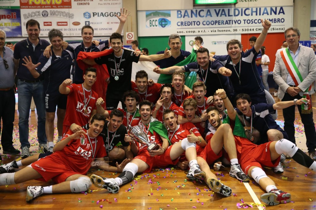 Itas Assicurazioni Trentino Volley Under 19 Campione d'Italia