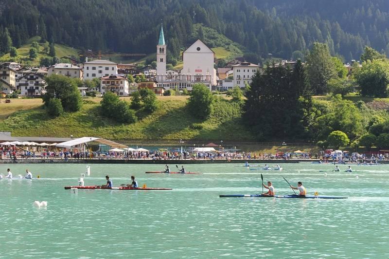 Auronzo canoe1