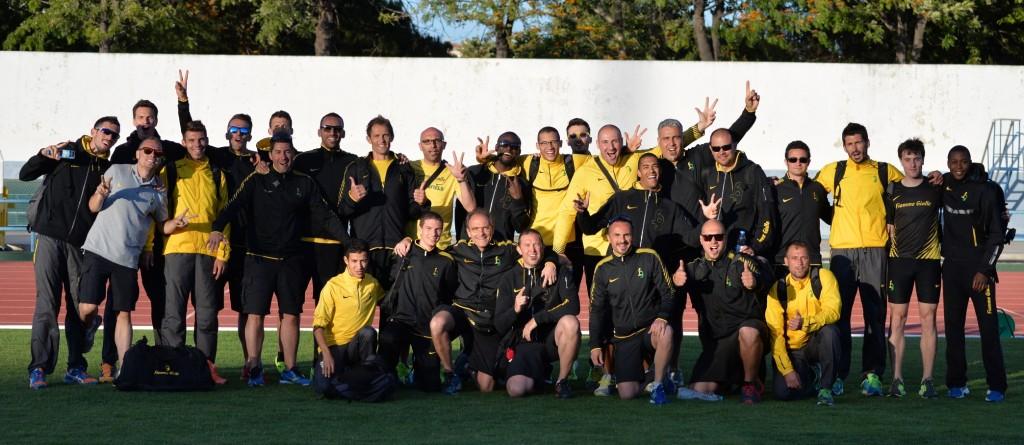 Foto gruppo FFGG - Coppa Campioni per Club