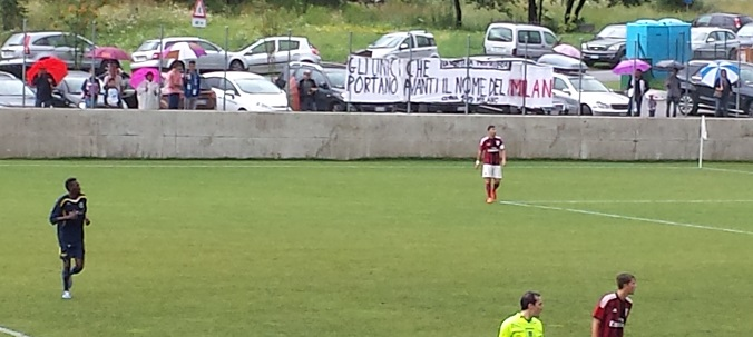 Temù Milan protesta