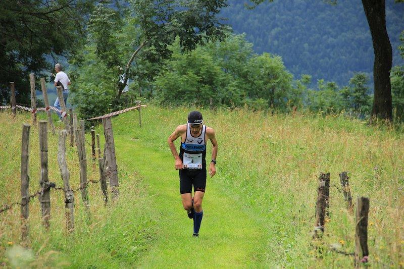 Corsa in montagna a Malonno