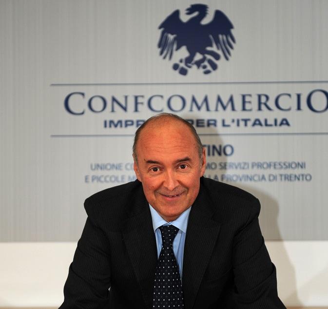 Gianni Bort presidente Unione e commercio