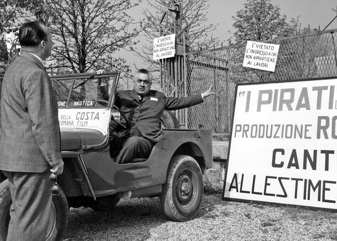 Il produttore Fortunato Misiano e Walter Bertolazzi a Riva del Garda