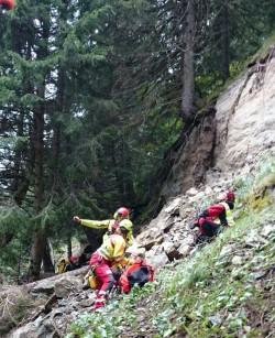 Temù intervento soccorso alpino
