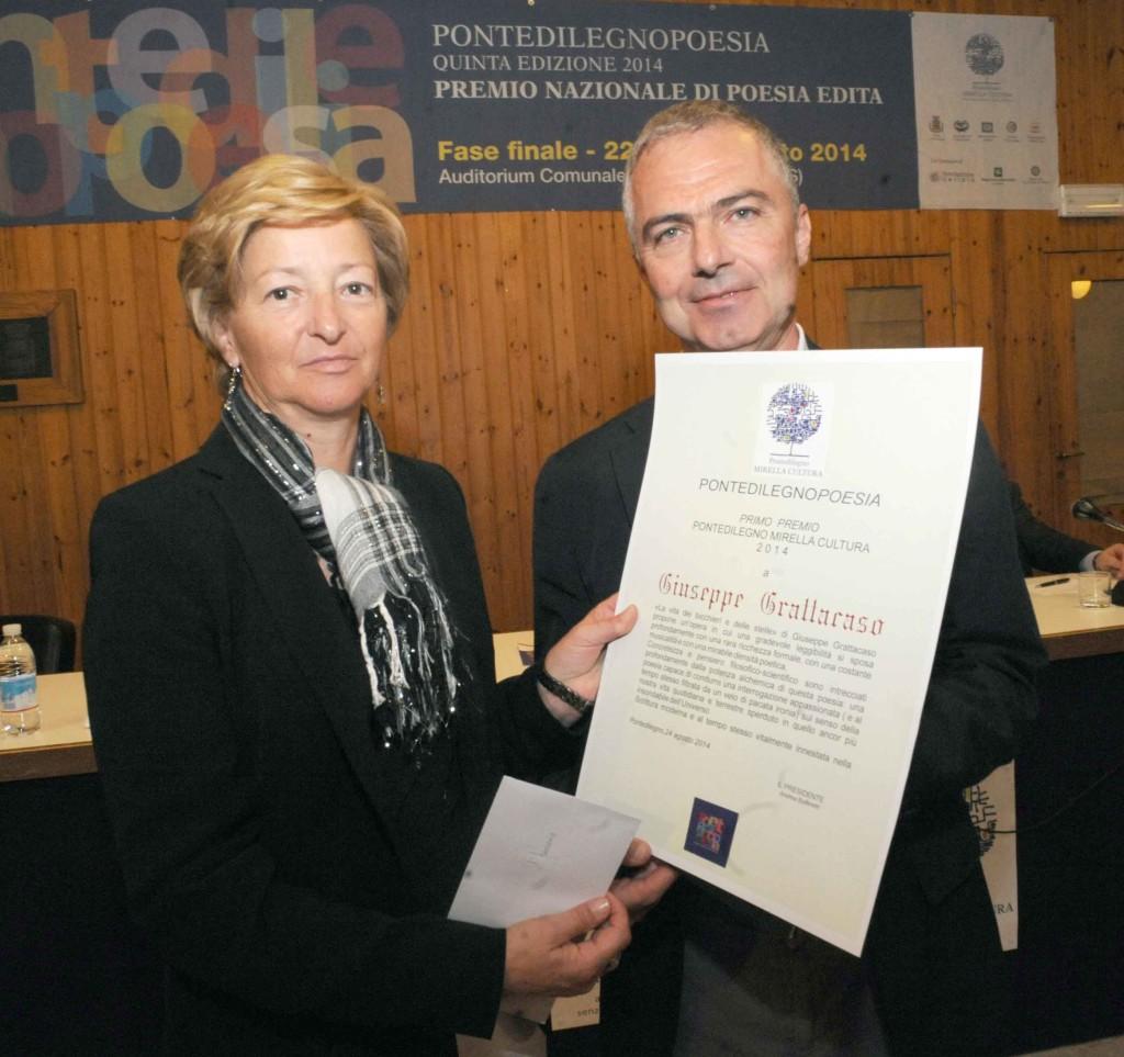sandrini premiazione mirellacultura