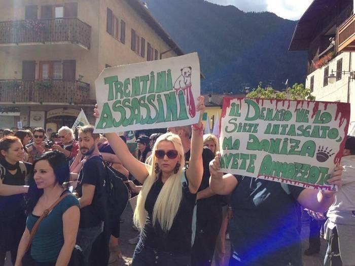 Pinzolo protesta 2 3