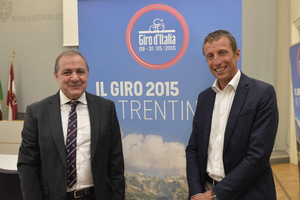 Presentazione Tappa del Giro d'italia 2015, Trento