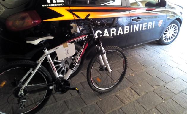 furto bici carabinieri trento