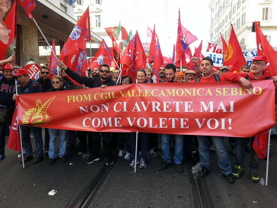 Fiom Cgil a Roma  (1)