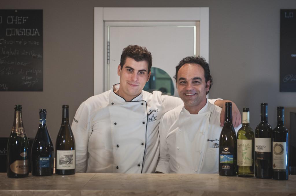 Matteo Grandi e Giuseppe D'Aquino. De Gusto Cuisine. 09/10/2014.