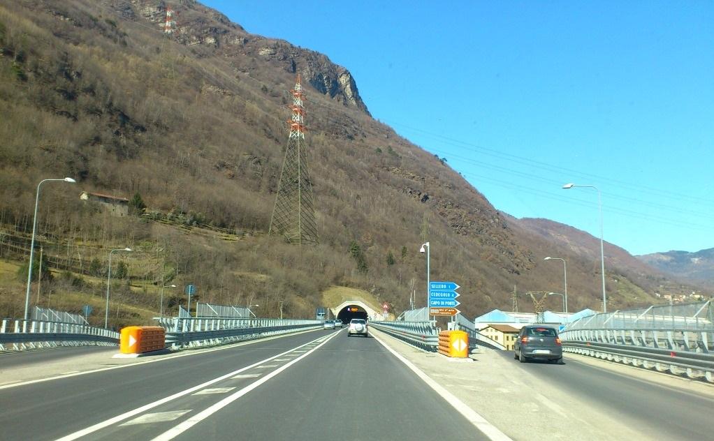 gallerie statale Tonale Breno