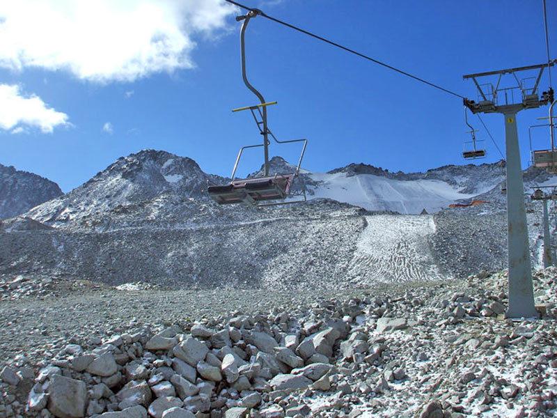 ghiacciaio-Presena estate