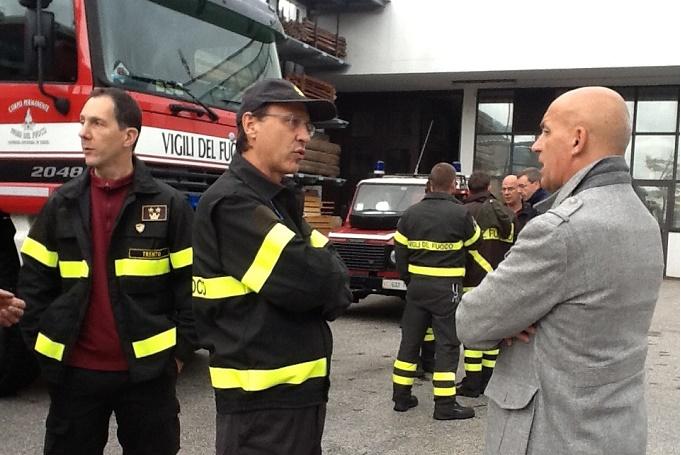 Mellarini e vigili del fuoco