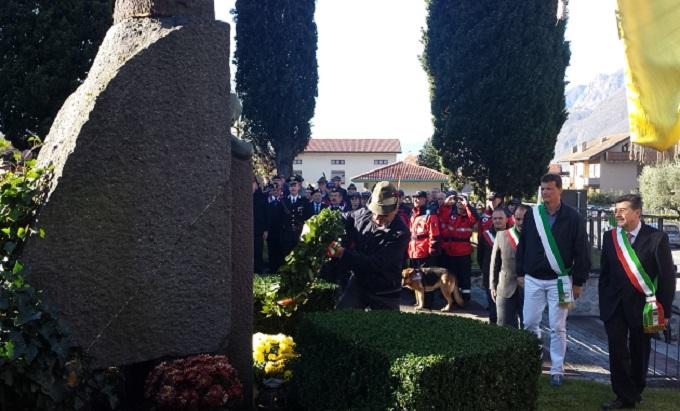 cerimonia IV Novembre Darfo Boario 1