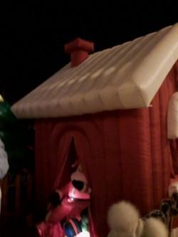 Babbo Natale Ponte legno