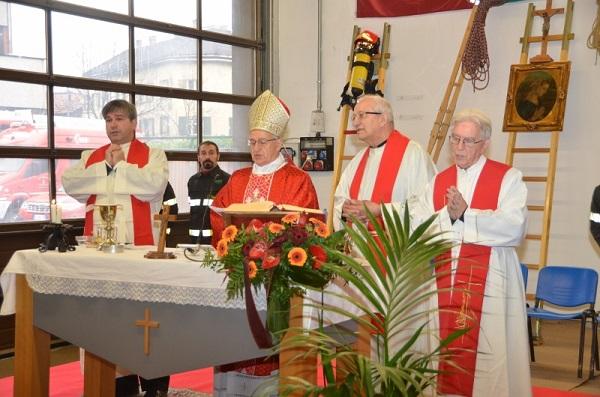 Messa a Trento Santa Barbara