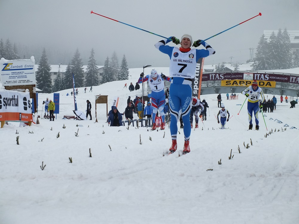 camp ita sprint 17012015 - arrivo aspiranti uomini