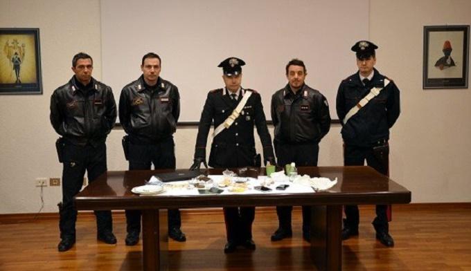 carabinieri trento - droga