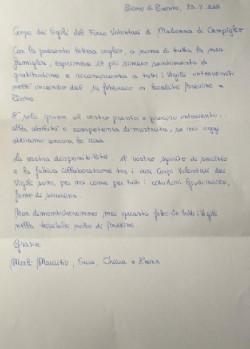 lettera Campiglio