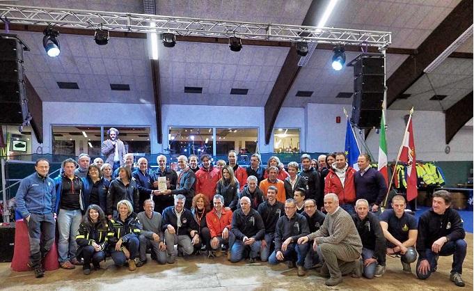 protezione civile a Cavalese