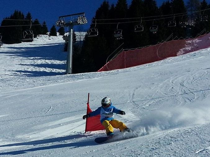snowboard  Monte pora