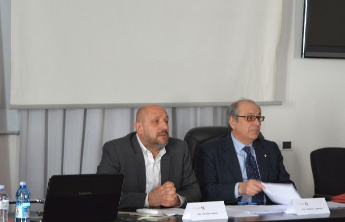 Armani presidente ingegneri Trento e Zambrano