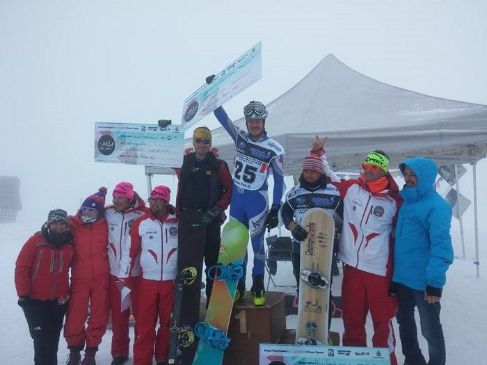Premiazioni snow Tonale