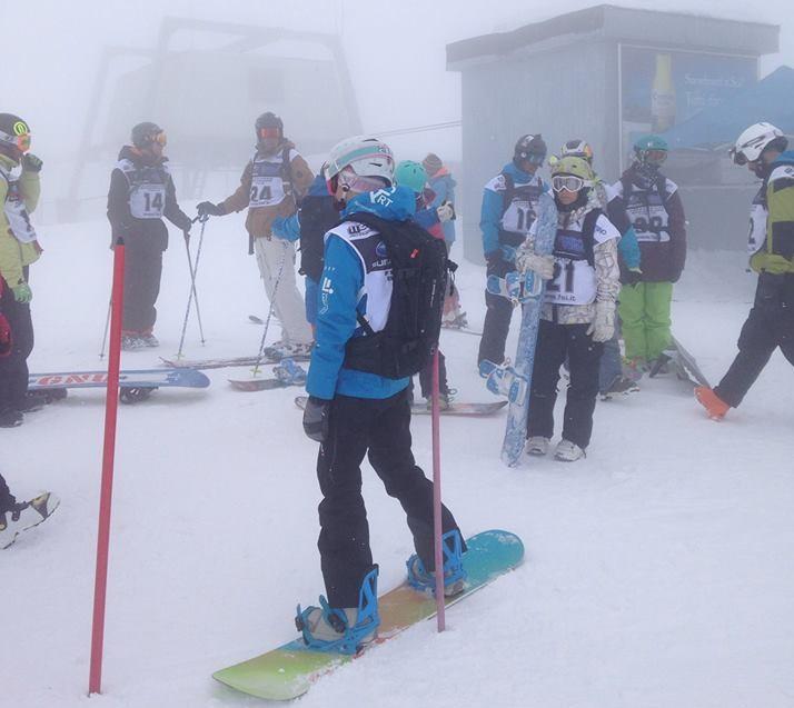 Snowboard Passo Paradiso 1