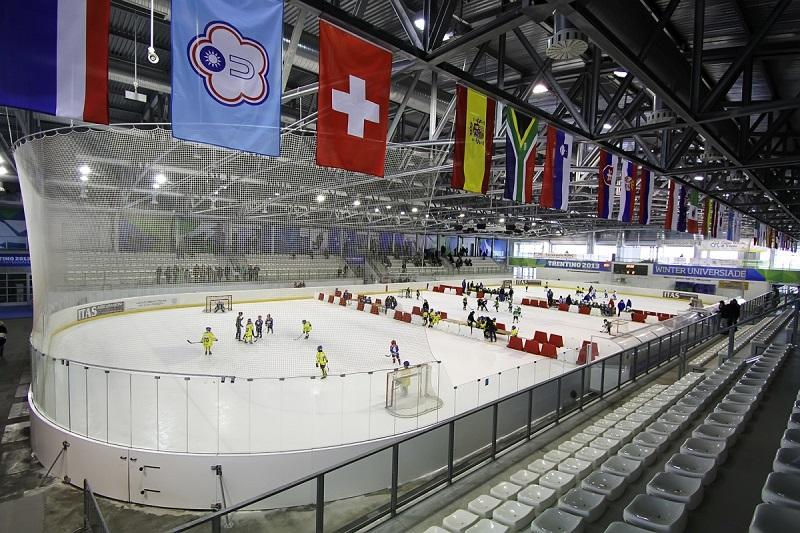 hockey ghiaccio palazzetto