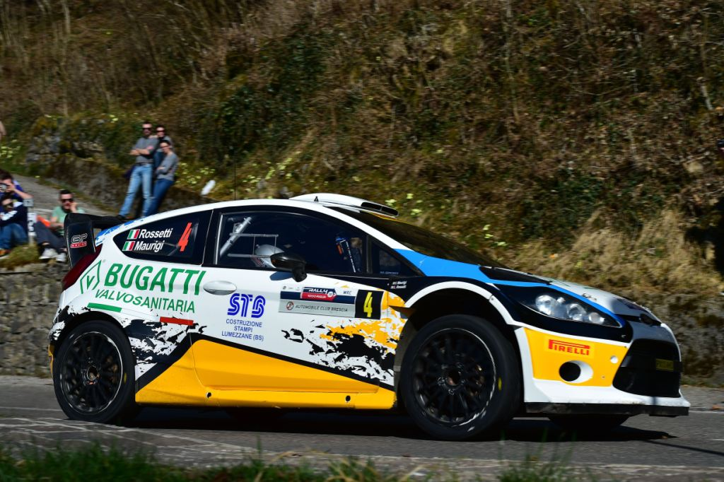 Luca Rossetti, Ivan Maurigi (Ford Fiesta WRC #4, Promo Sport Racing)