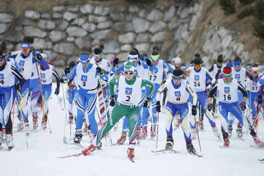 sci nordico fondo giovani partenza-under18-F