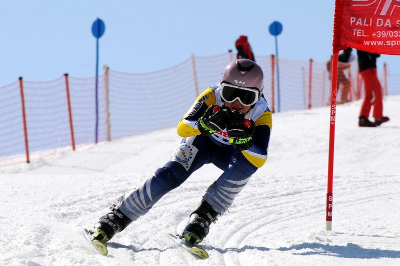 slalom gigante bambini gare sci alpino madonna di campiglio