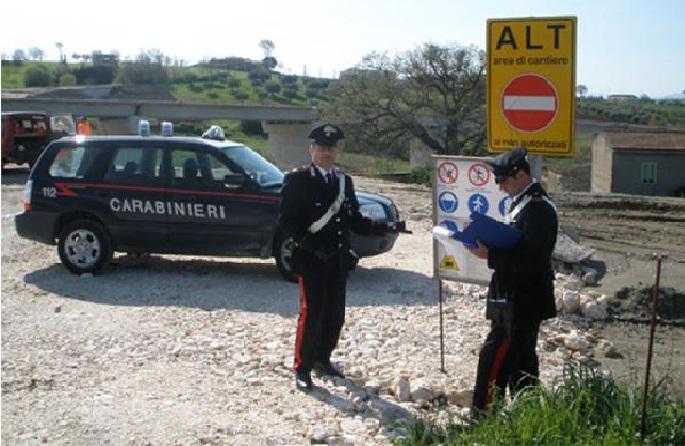 Carabinieri in cantiere 1