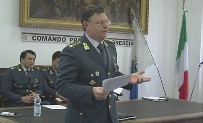 Gdf Brescia - colonnello Arbore