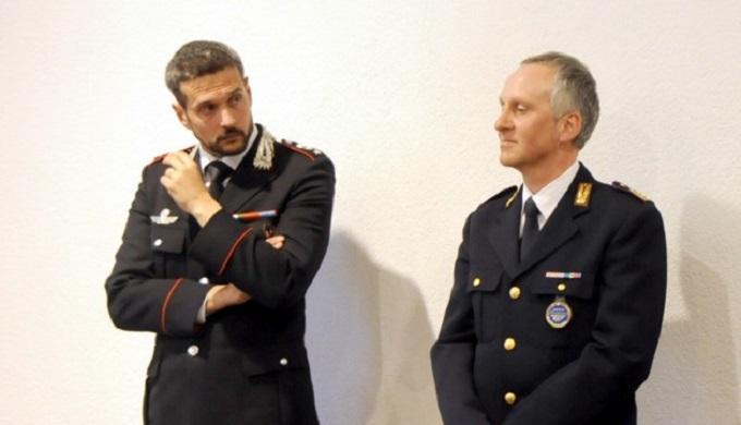 carabinieri Vezzano e polizia postale Trento