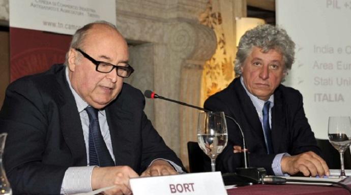 Camera di Commercio - Bort e il segretario CCCIA