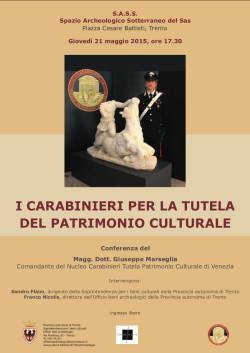 I Carabinieri per la tutela del patrimonio